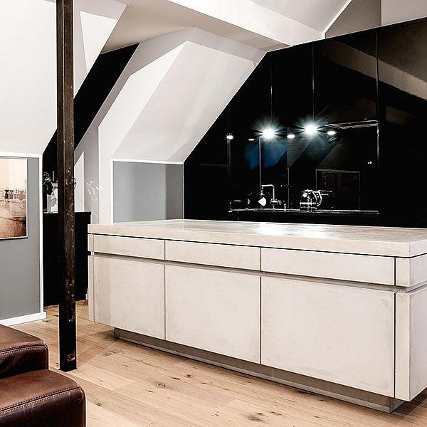 Küchenzeile Planung ~ einzelanfertigung concreto